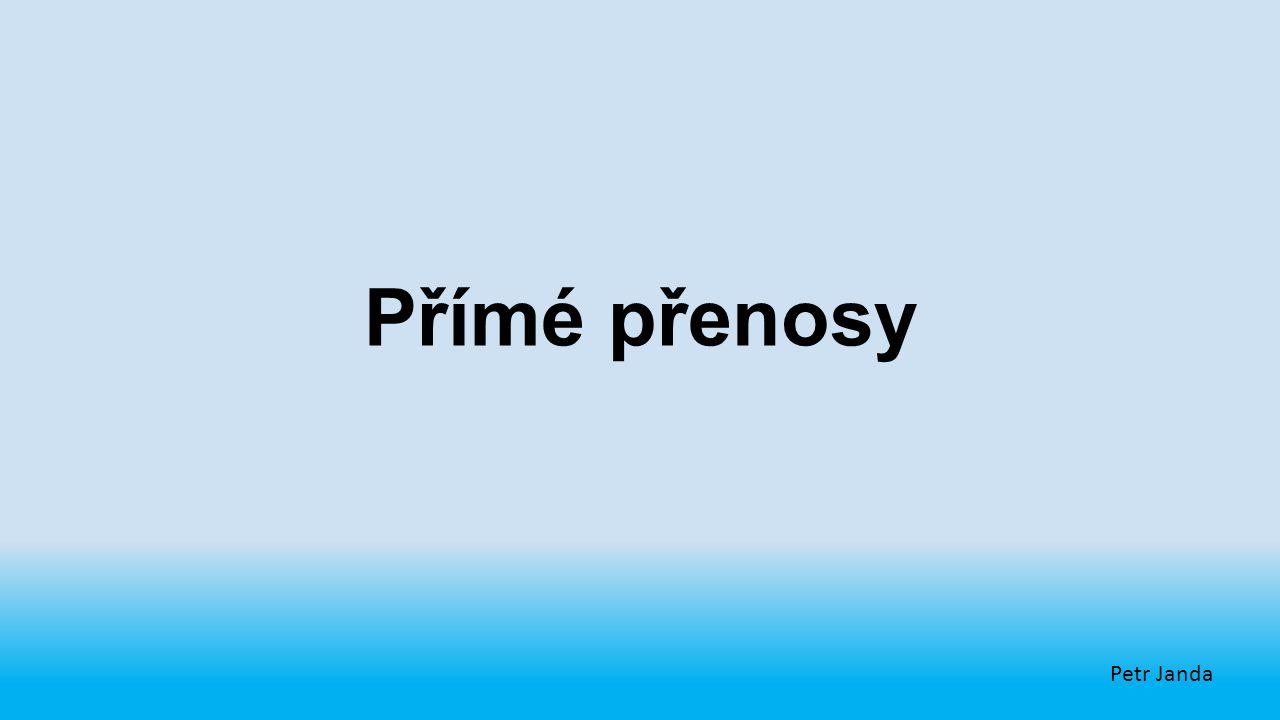 Přímé přenosy Petr Janda