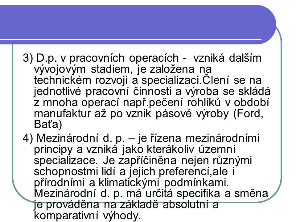 3) D.p.