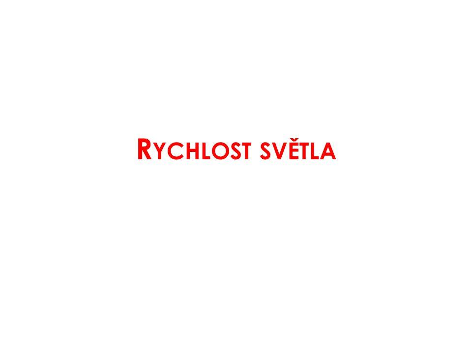 R YCHLOST SVĚTLA