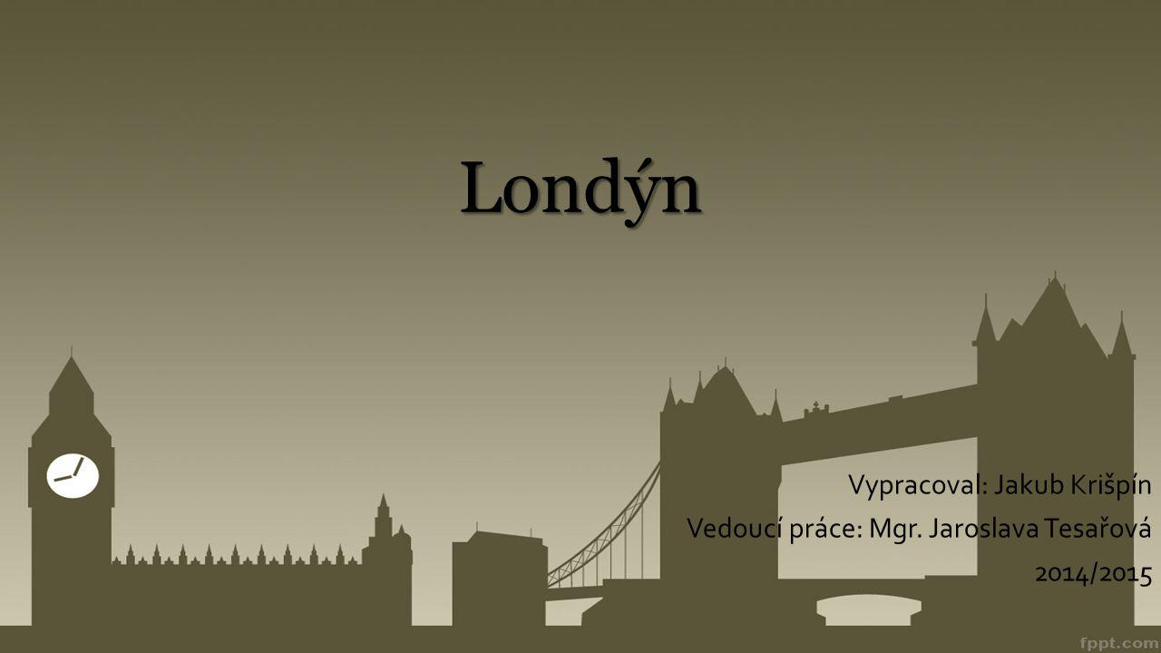 """Rozdělení Londýna  32 obvodů + city  Londýnská city – obchodní centrum  """"Londonistán"""