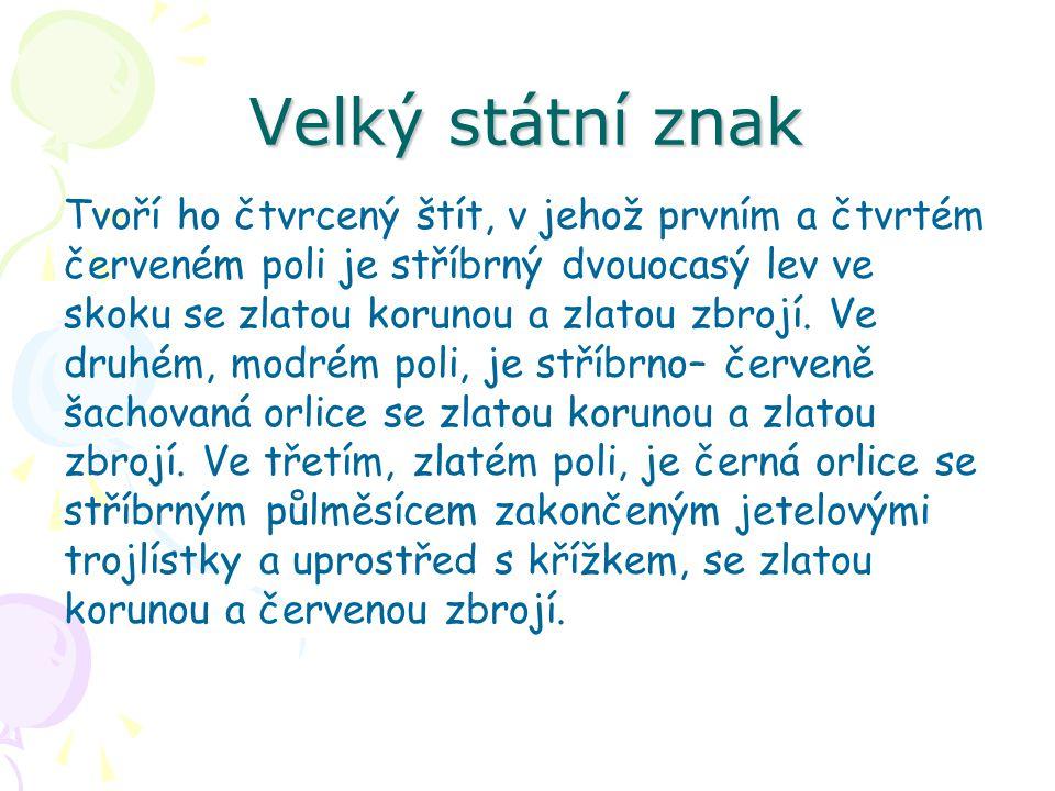 Státní hymna Nahradila dosud při slavnostních příležitostech používaný Svatováclavský chorál.