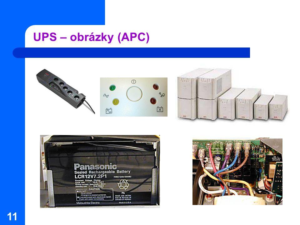 11 UPS – obrázky (APC)