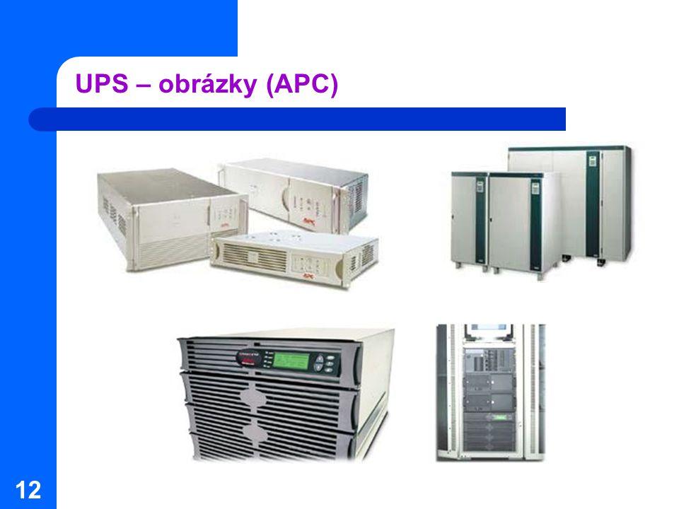 12 UPS – obrázky (APC)