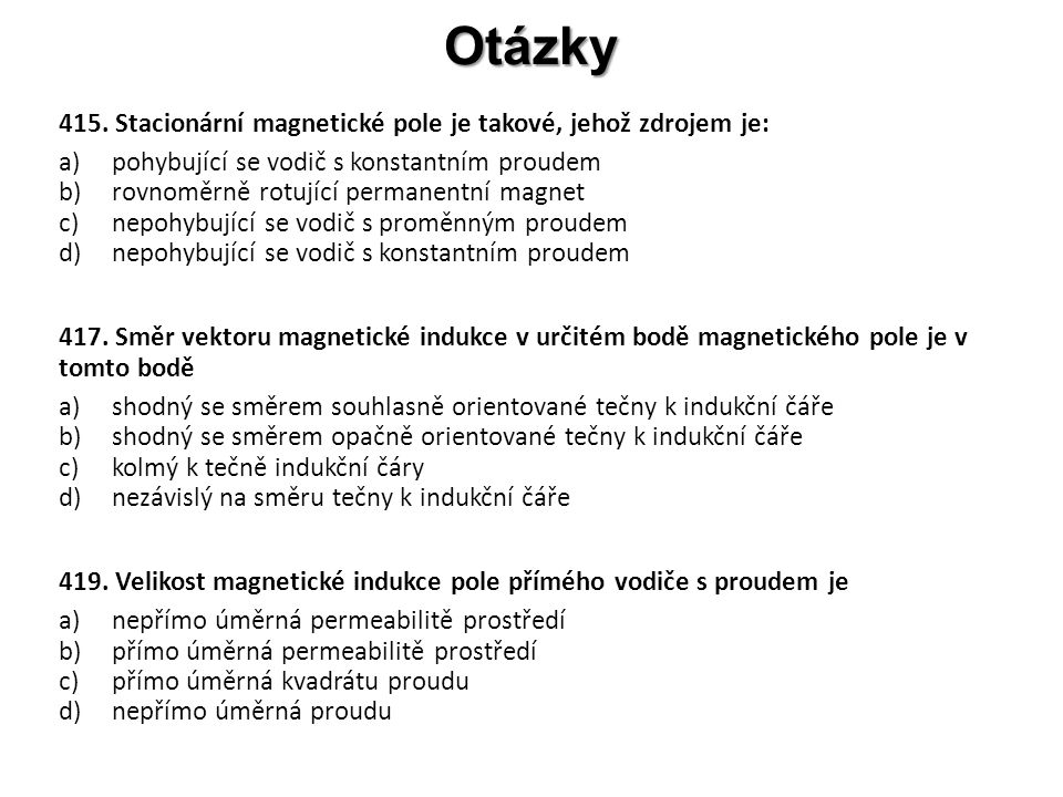 Otázky 415.