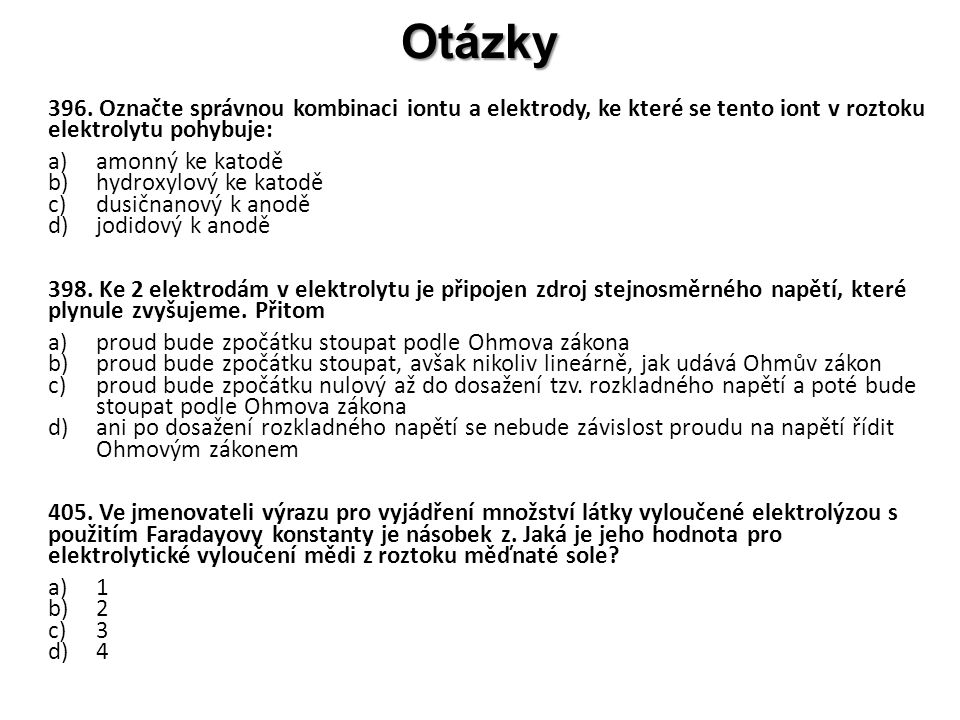 Otázky 396.
