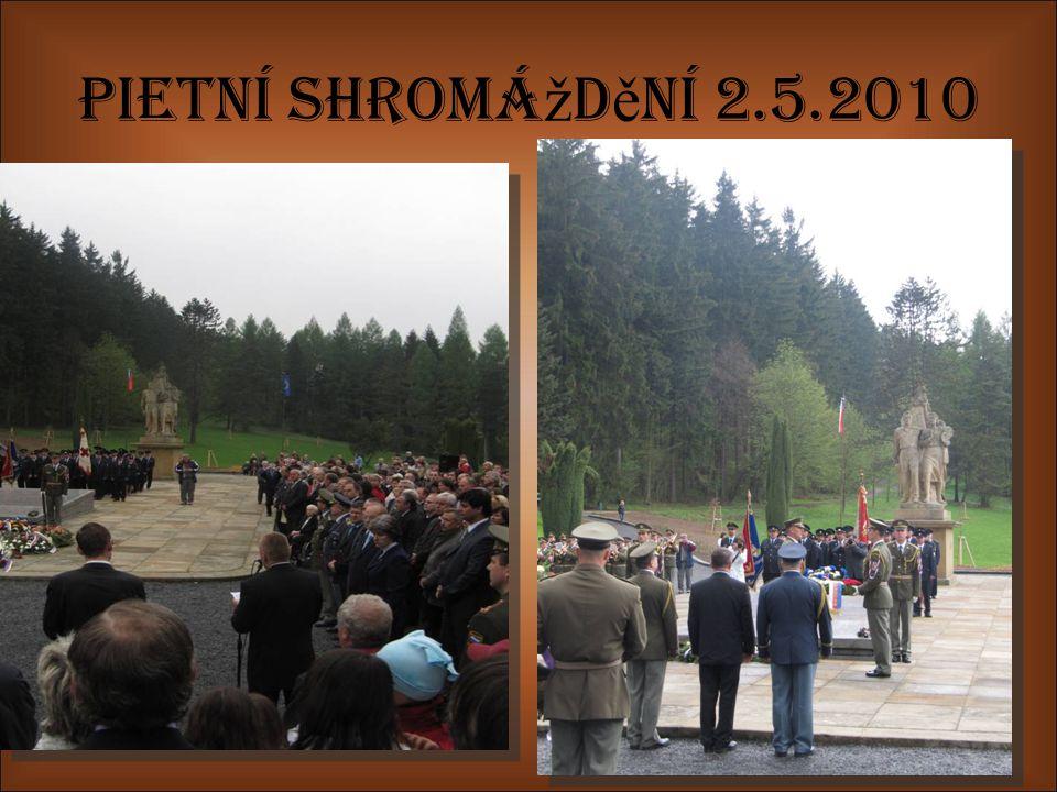 Pietní shromá ž d ě ní 2.5.2010