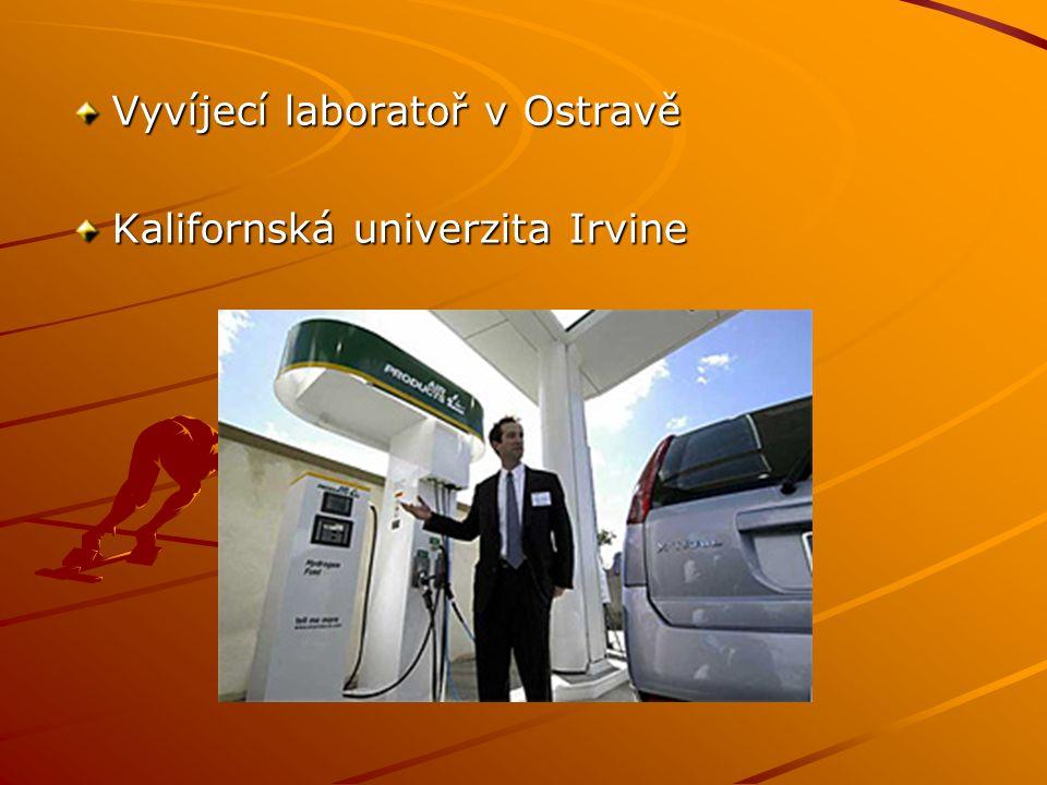Vyvíjecí laboratoř v Ostravě Kalifornská univerzita Irvine