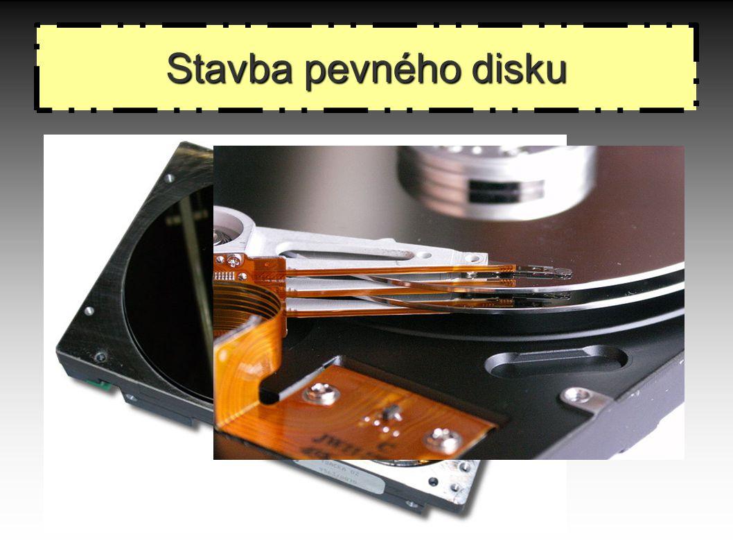 Stavba pevného disku