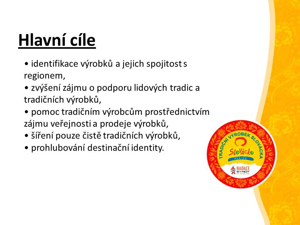 Třetí cílová skupina = veřejnost Místní obyvatelé Rodáci žijící mimo region či v zahraničí Turisté Cíl: nabídnout těmto cílovým skupinám kvalitní výrobek s původem na Slovácku vyráběný tradičními postupy či technologiemi