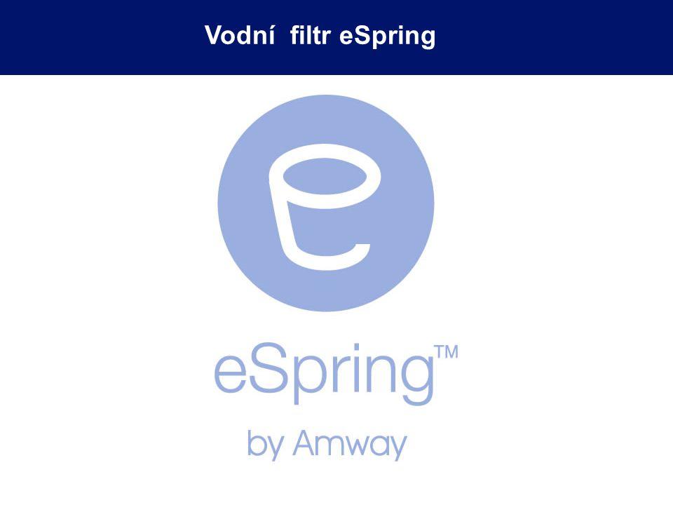 Inteligentní elektronický čip: sleduje životnost UV lampy upozorní na výměnu vložky filtru eSpring Elektronické monitorování