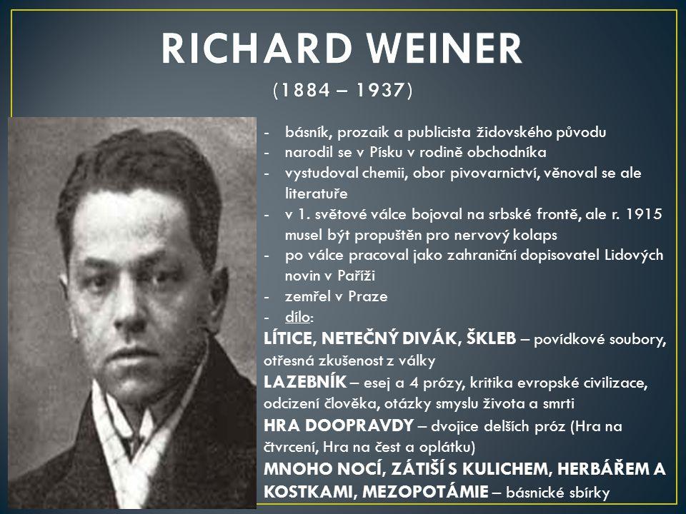 -spisovatel (prozaik), jeden ze zakladatelů české sci-fi, nositel titulu zasloužilý umělec -narodil se v Jilemnici v rodině obchodníka -po maturitě na gymnáziu ve Dvoře Králové začal studovat ve Vídni práva -r.