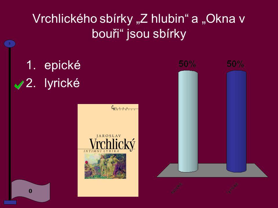 Pseudonym Vrchlický je podle 0 5 1.hory 2.říčky 3.vesnice