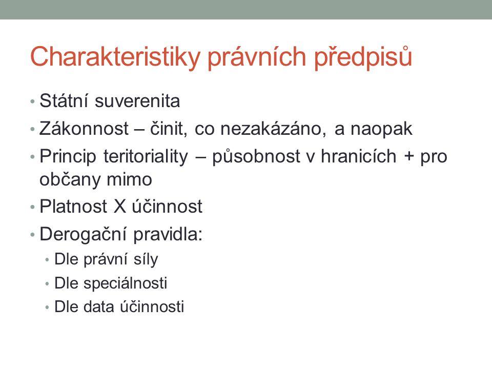 Struktura právního řádu (Lokajová, s.