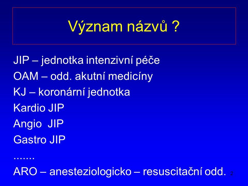 13 Gastroenterologický JIP/Metabolická jednotka Dekomp.