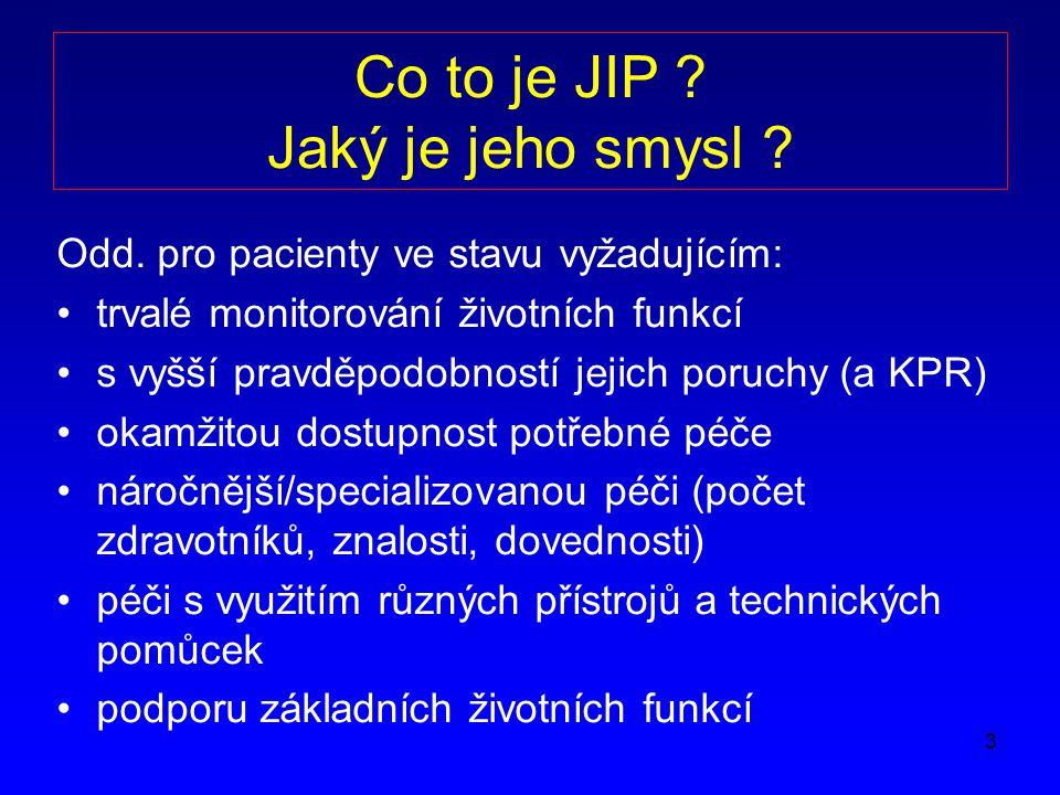3 Co to je JIP .Jaký je jeho smysl . Odd.