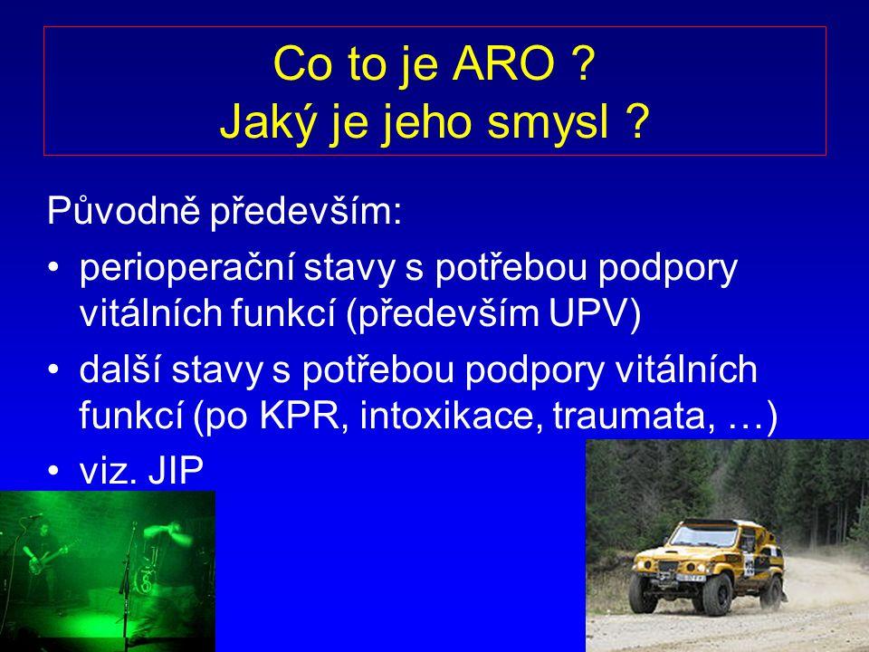 5 Rozdíl mezi JIP ARO.ARO: Nem.