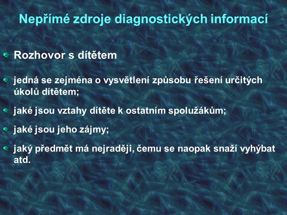 Diagnostika dyskalkulie Sériové písemné operace: 20 – 8 – 5 =, 6 + 9 – 5 = Písemné sčítání, odčítání, násobení a dělení čísel.