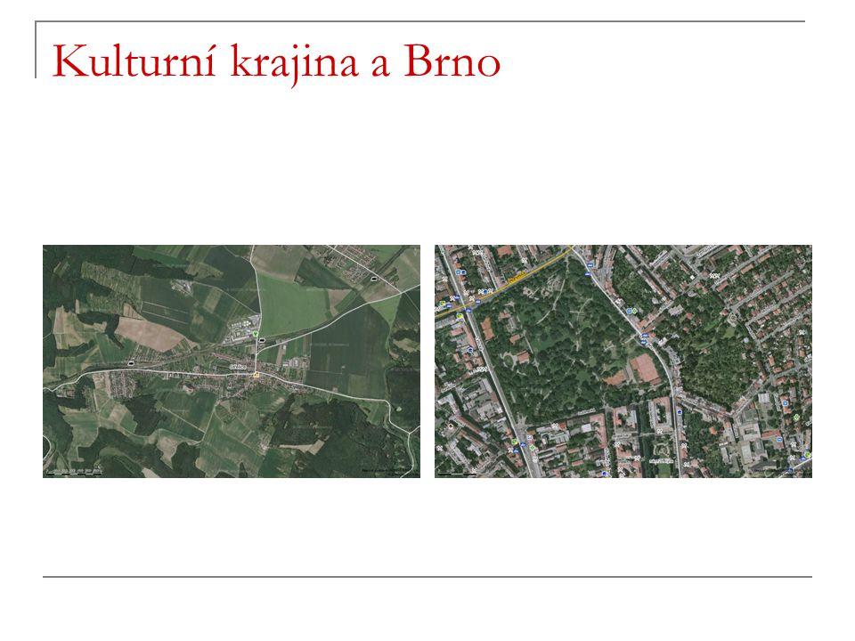 Kulturní krajina a Brno