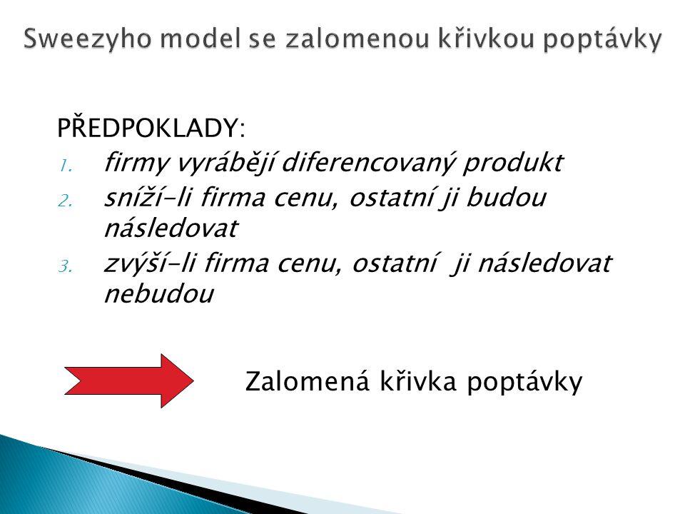  výroba elektrické energie v ČR – ČEZ, a.s. cca 75% podíl na trhu  Student Agency na trase Brno-Praha a Praha- Brno??  Telefonica O2 ČR – cca 84% p
