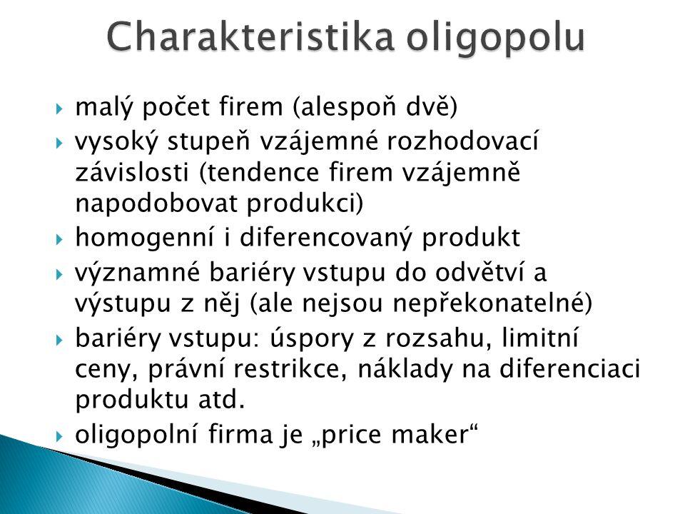 Soukupová et al.: Mikroekonomie. Kapitola 11, str. 306 – 333. Musil: Mikroekonomie – středně pokročilý kurz. Kapitola 7, str. 157 – 175.