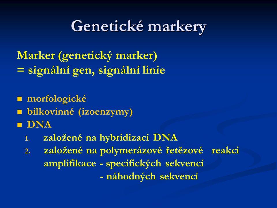 Praktikum z genetiky rostlin JS 2008 1. 1.