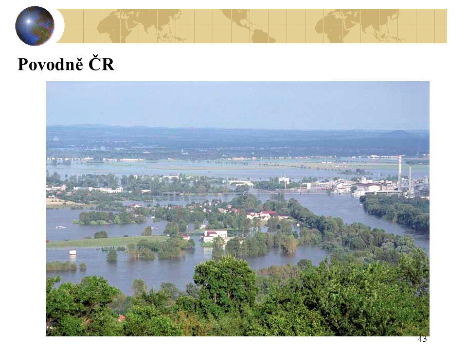 43 Povodně ČR