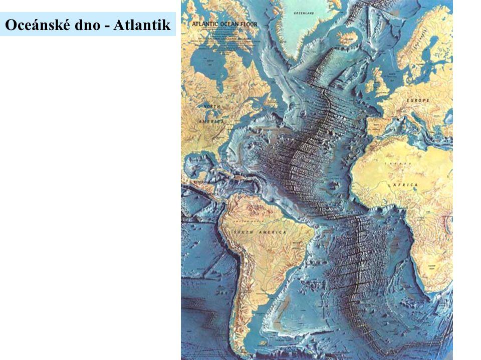 Oceánské dno - Atlantik