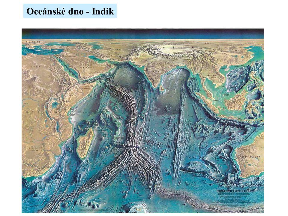Oceánské dno - Indik