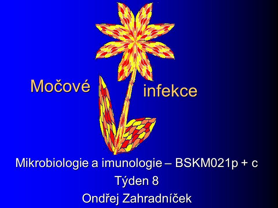 Močové Mikrobiologie a imunologie – BSKM021p + c Týden 8 Ondřej Zahradníček infekce