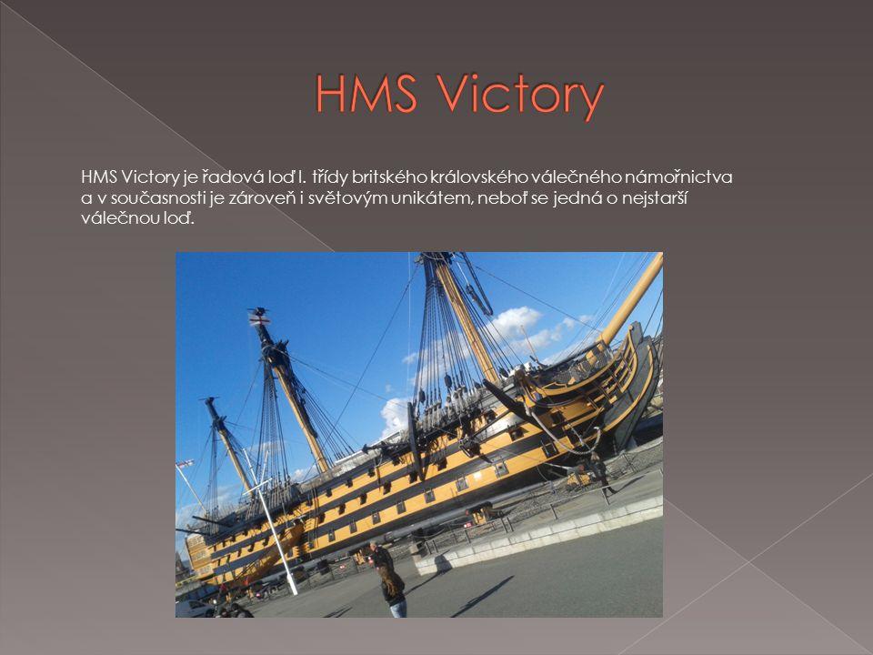 HMS Victory je řadová loď I.