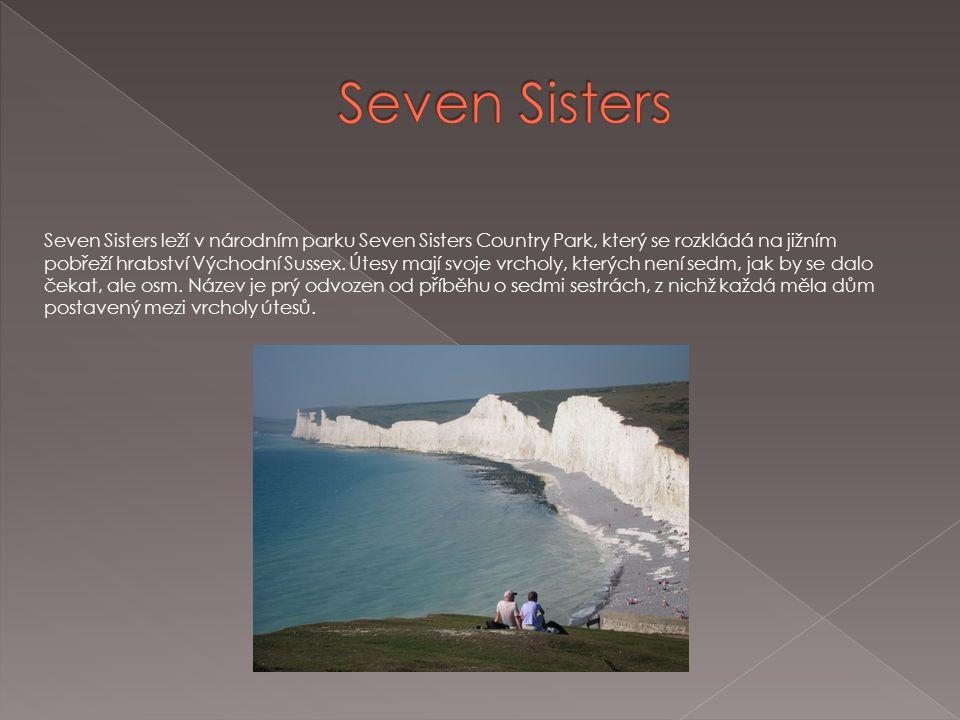 Seven Sisters leží v národním parku Seven Sisters Country Park, který se rozkládá na jižním pobřeží hrabství Východní Sussex.