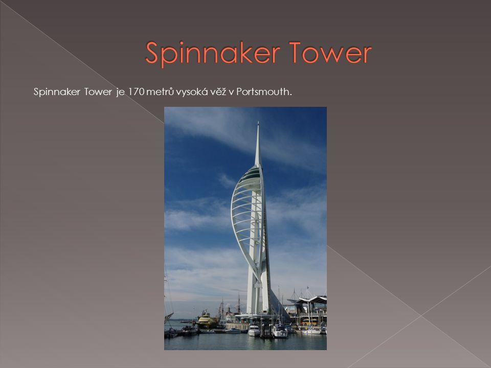 Spinnaker Tower je 170 metrů vysoká věž v Portsmouth.