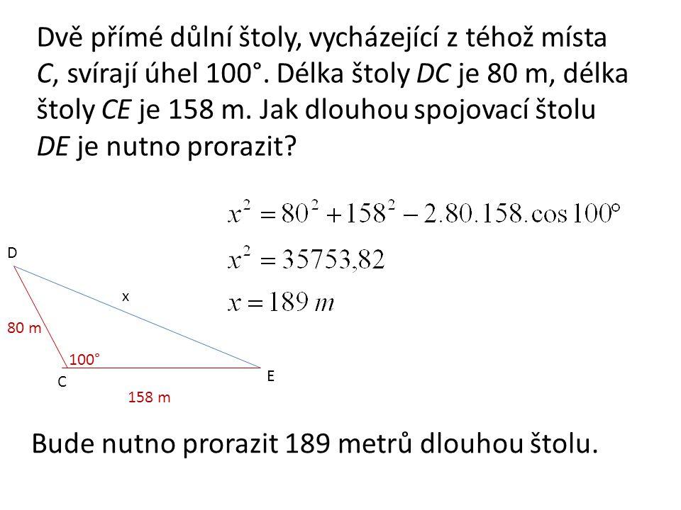 Úlohy k procvičení 1.Vypočítejte velikost výslednice sil F 1 = 70 N,F 2 = 30 N, které svírají úhel 120°.