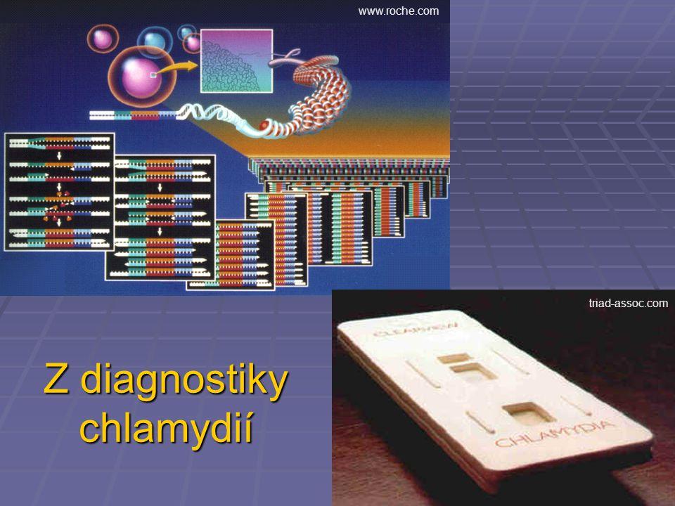 Z diagnostiky chlamydií www.roche.com triad-assoc.com