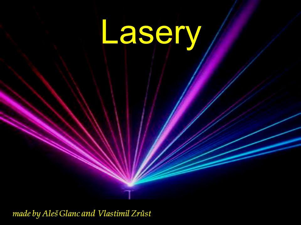 Obsah Princip činnosti laserů Vlastnosti laserů Typy laserů Termojaderná fůze a laser Laser jako zbraň Zdroje informací