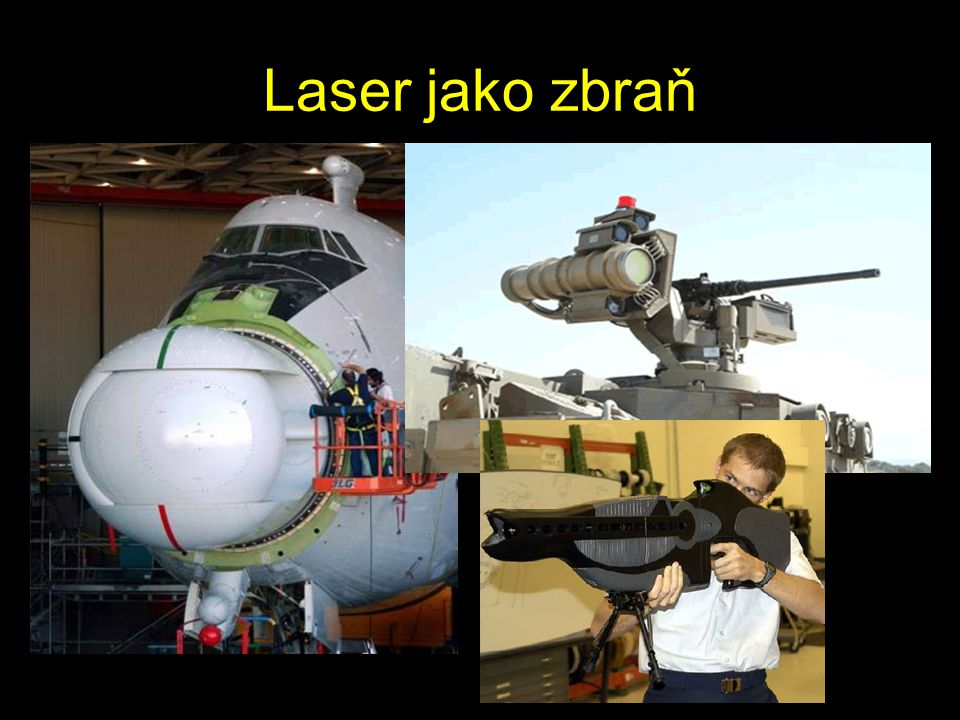 Laser jako zbraň