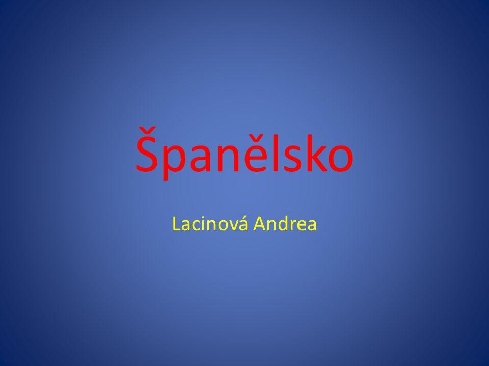 Španělsko Lacinová Andrea