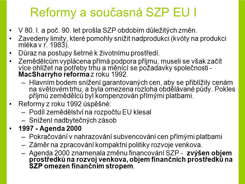 2002 - formulována tzv.průběžná zpráva o stavu SZP (tzv.
