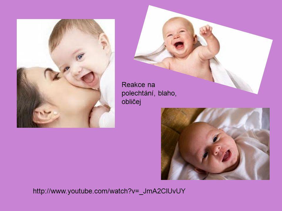 Reakce na polechtání, blaho, obličej http://www.youtube.com/watch?v=_JmA2ClUvUY