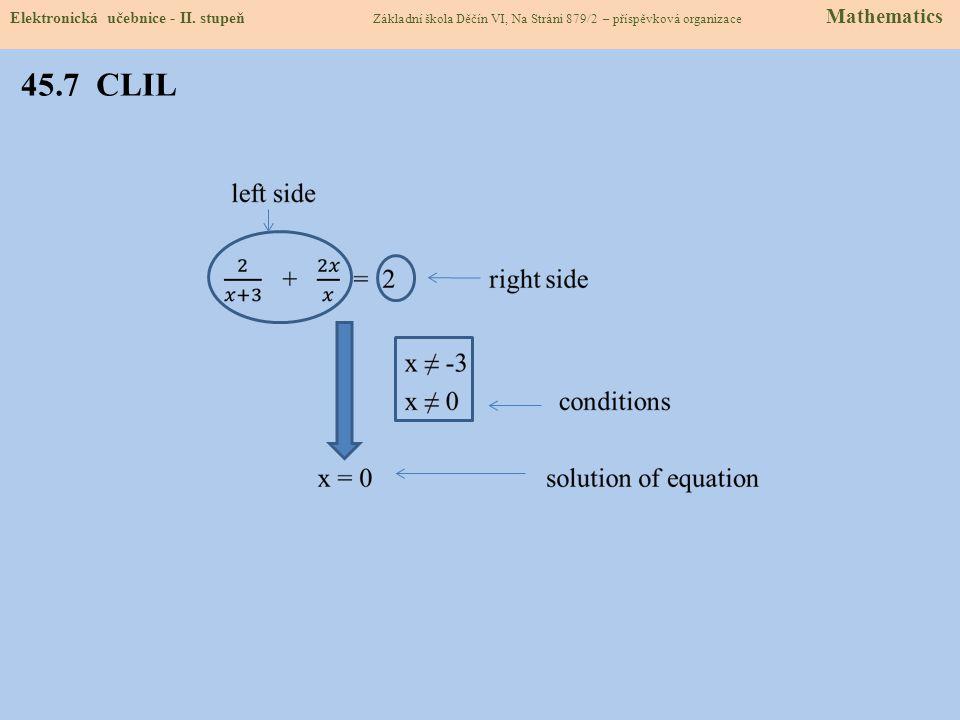45.8 TEST Odpověď: 1.b 2. c 3. d 4. b Elektronická učebnice - II.