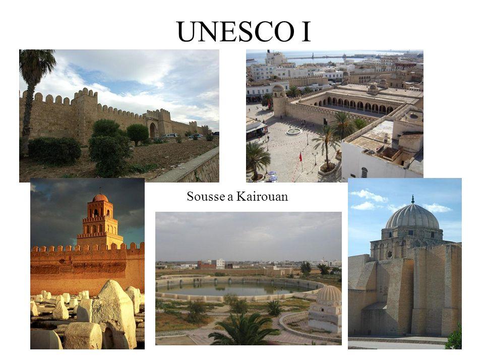 UNESCO I Sousse a Kairouan