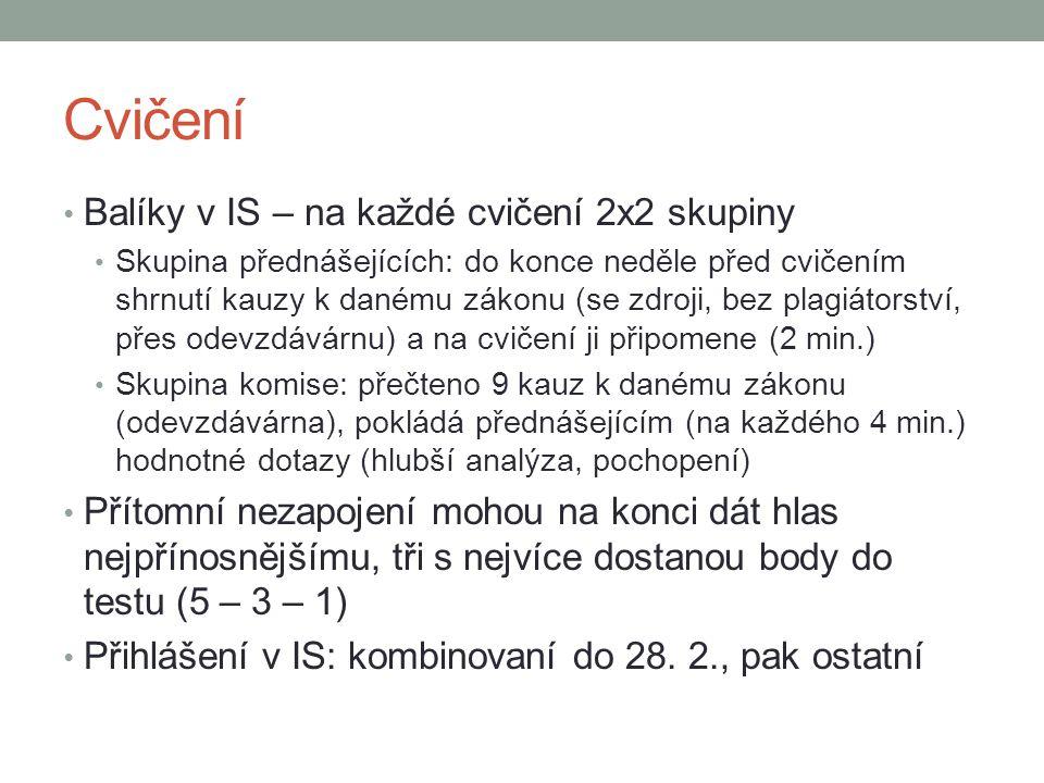 Použitá literatura KÜHN, Zdeněk; BOBEK, Michal; POLČÁK, Radim.