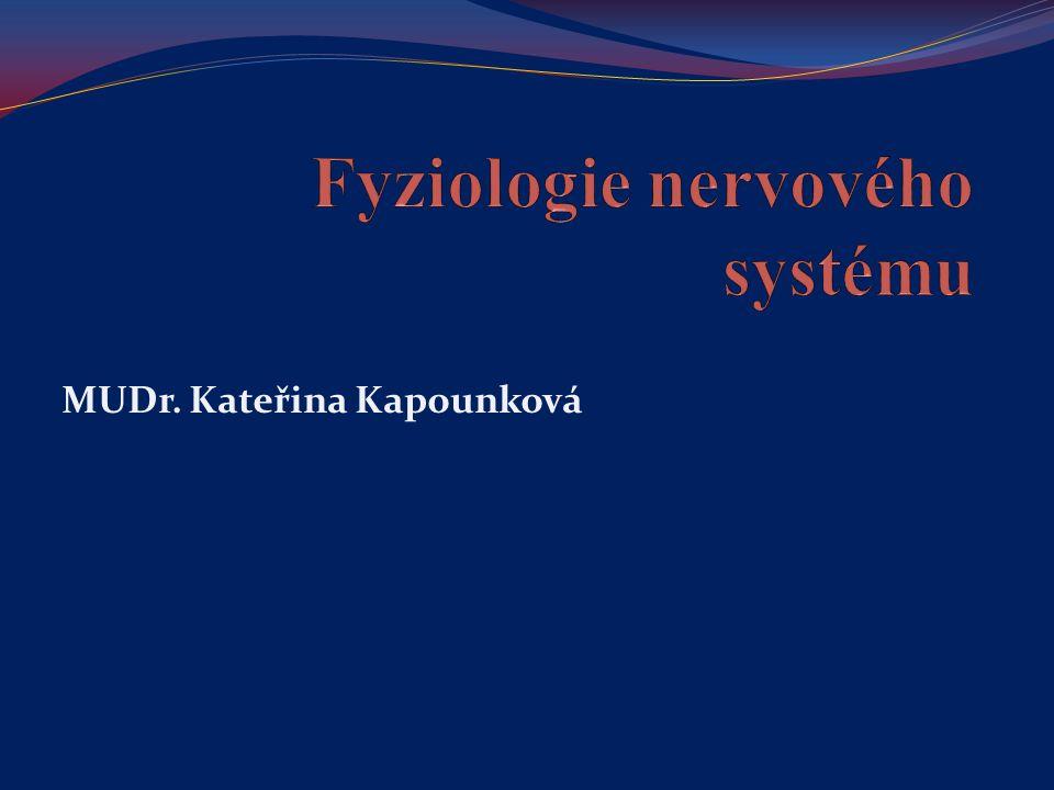 Reflex = funkční jednotka nervové soustavy = odpověď organismu na dráždění čidel, zprostředkovaná nervovým systémem je determinován podnětem (zevním, vnitřním) je určen reflexním obloukem (receptor, aferentní = dostředivá dráha, centrum v míše – eferentní = odstředivá dráha)