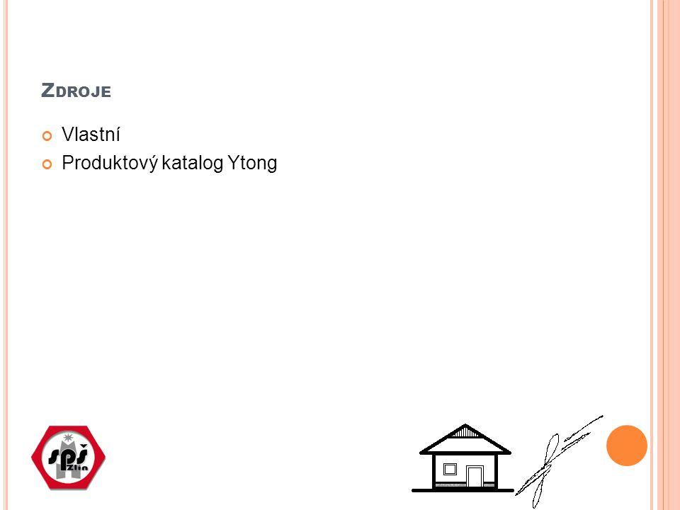 Z DROJE Vlastní Produktový katalog Ytong