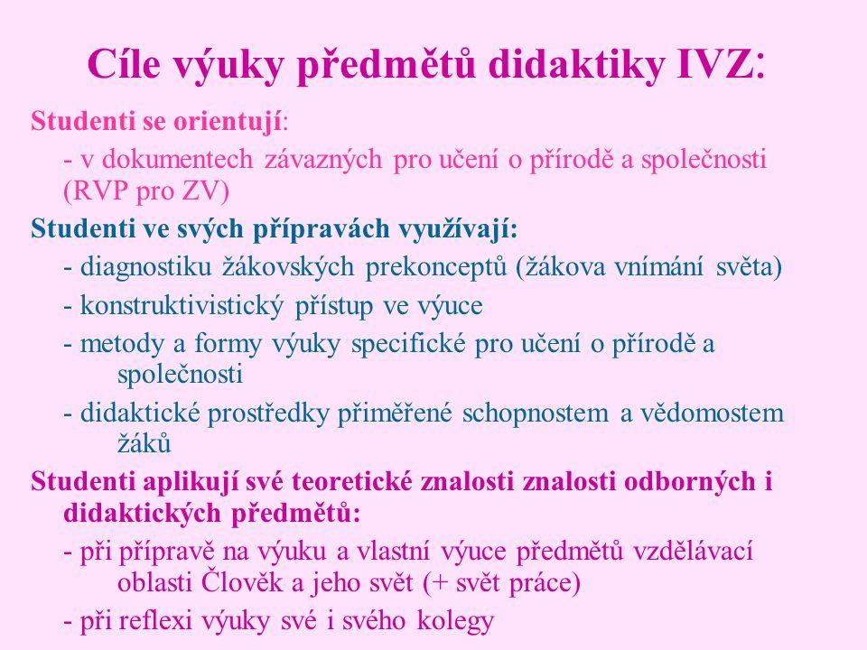 Didaktika pro IVZ: 26.9.
