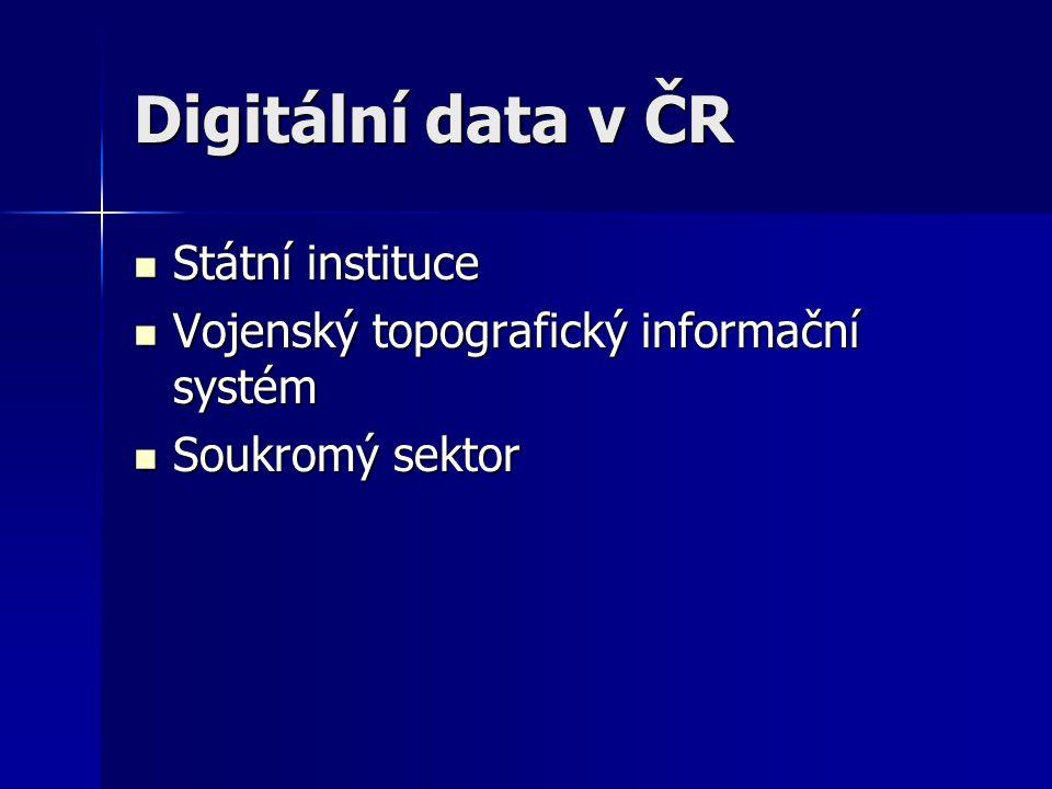 Vojenský topografický informační systém Součástí Vojenského informačního systému o území Součástí Vojenského informačního systému o území Vytváří AČR (resp.