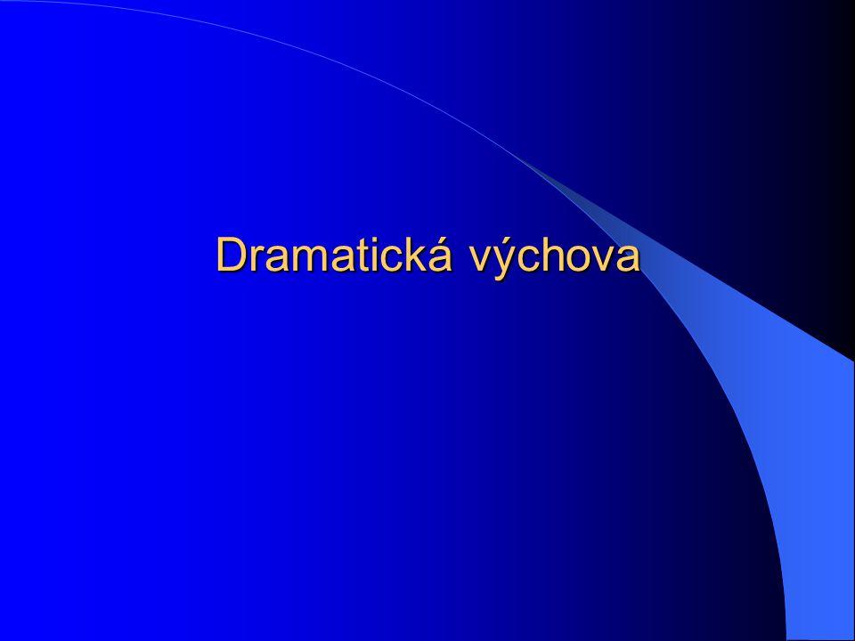 Dva směry DV 1. Linie výchovná 2. Linie divadelní