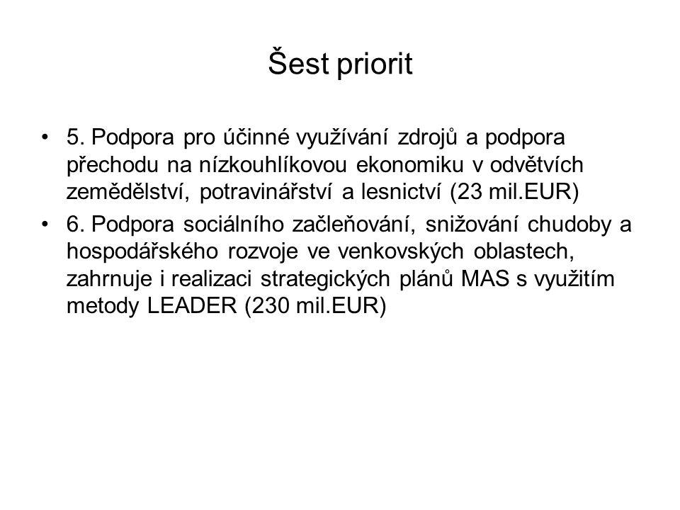 Šest priorit 5.