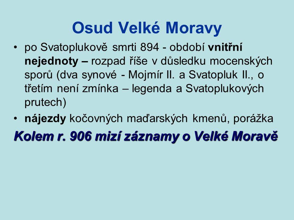 Osudy staroslověnštiny průlom do tří uznávaných liturgických jazyků latina řečtina hebrejština český kníže Bořivoj vrátil zemi pod správu východofrans