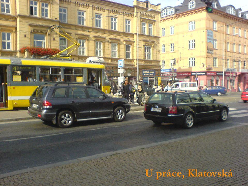 U práce, Klatovská